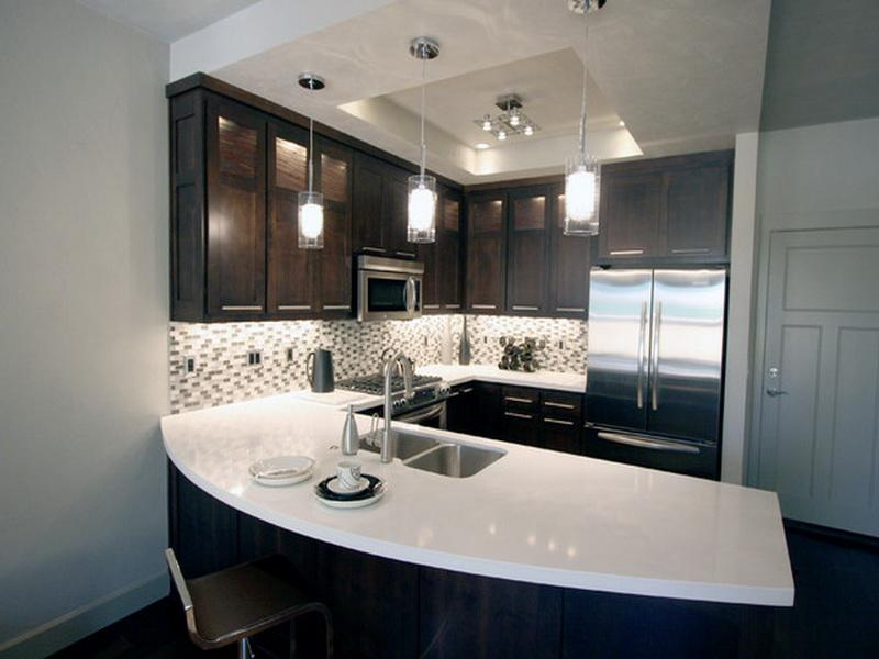 modern all white countertops kitchen island