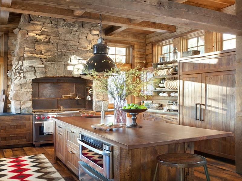 rustic italian design kitchen style