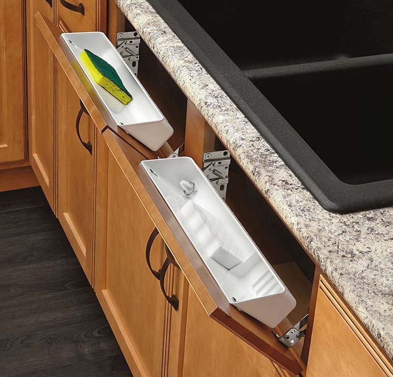 tip out trays amazon for kitchen sink