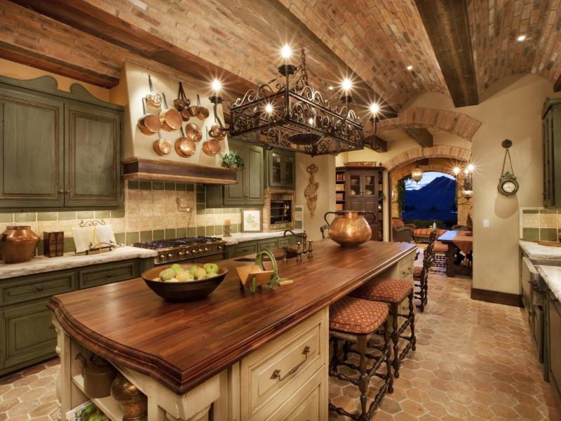 tuscany kitchen style