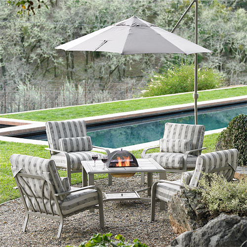 4 chair set patio outdoor table