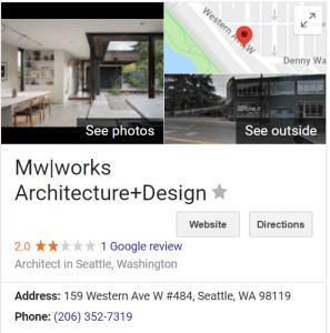 MW works Seattle Modern Architect