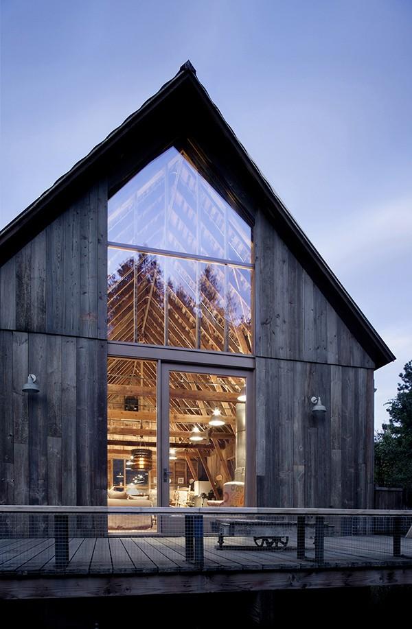 canyon barn renovation by MWWorks
