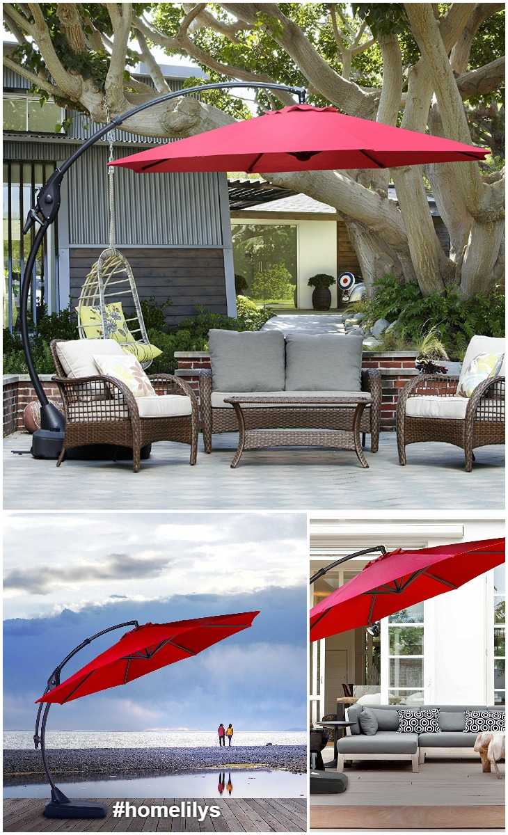 heavy duty cantilever patio umbrella