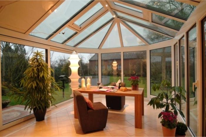 winter garden for work from home entrepreneur