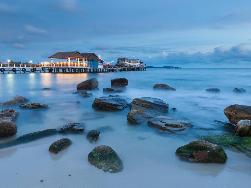 beautiful sihanoukville beach