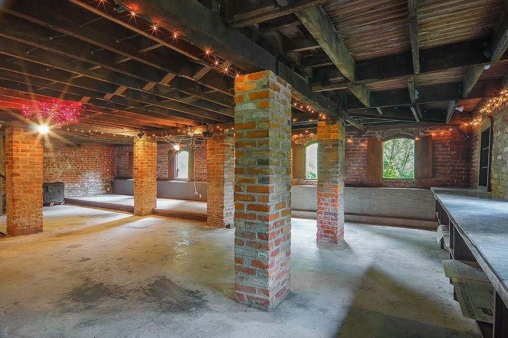 basement of 1892 victorian texas house