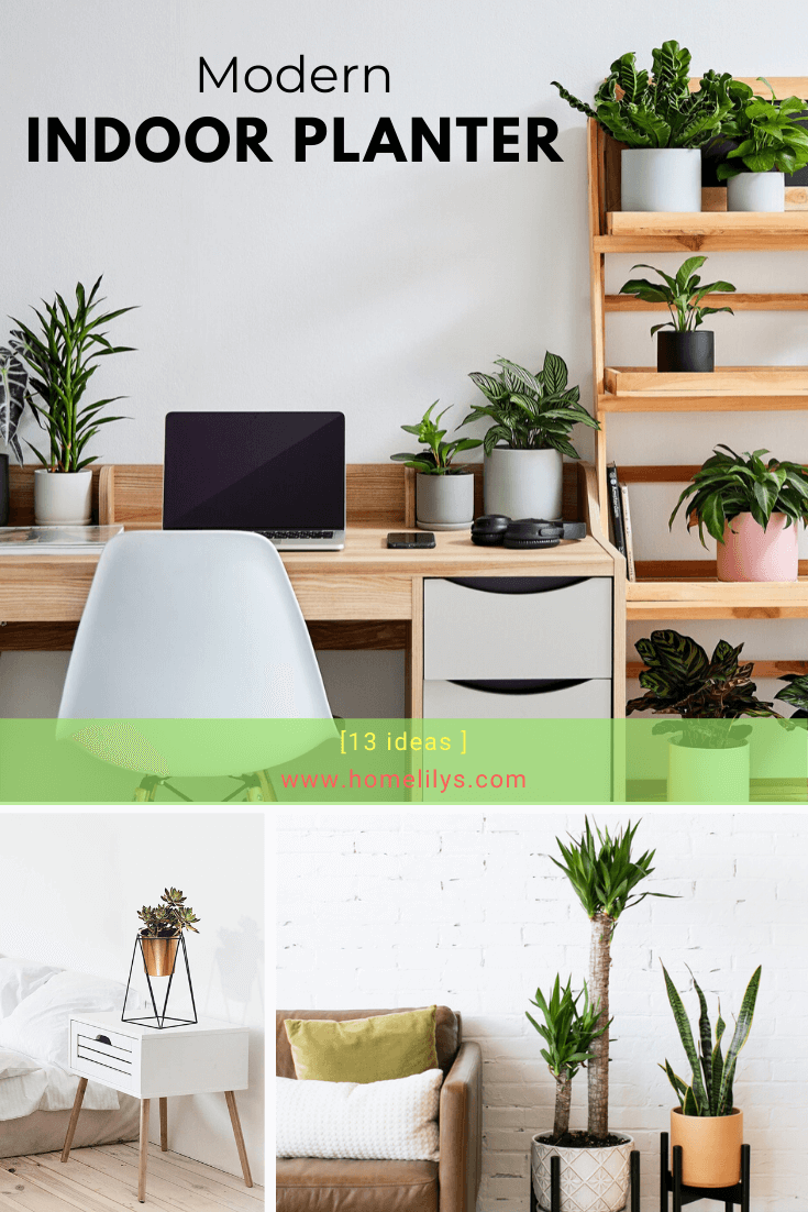 13 Cheap Modern Indoor Planters Or DIY Indoor Planters ...