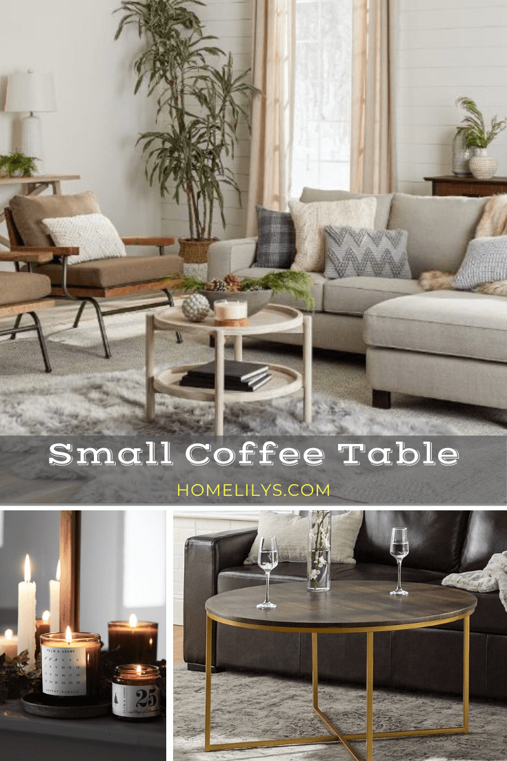 small coffee tables for small apartment